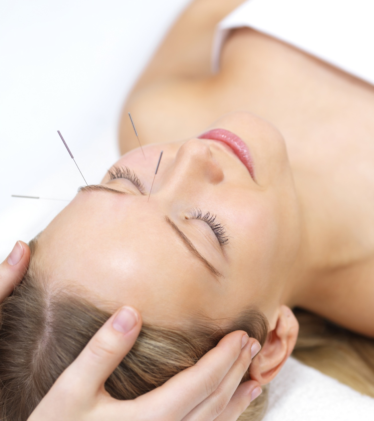 Most sensual Microcurrent acupuncture facial rejuvenation like her