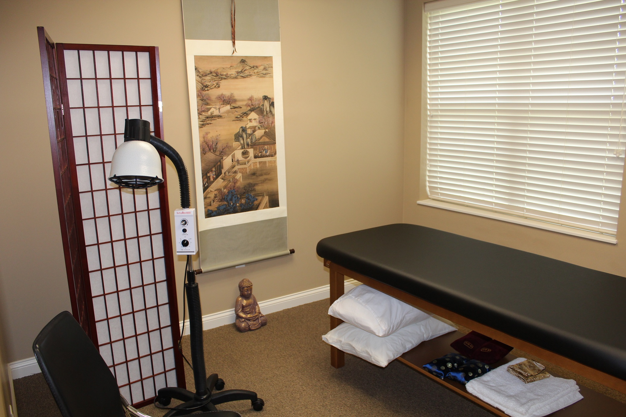 Cincinnati Acupuncture Clinic Treatment Room